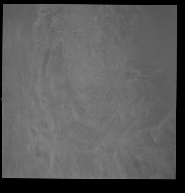 AS10-30-4360 - Apollo 10 - Apollo 10 Mission image - Crater 211