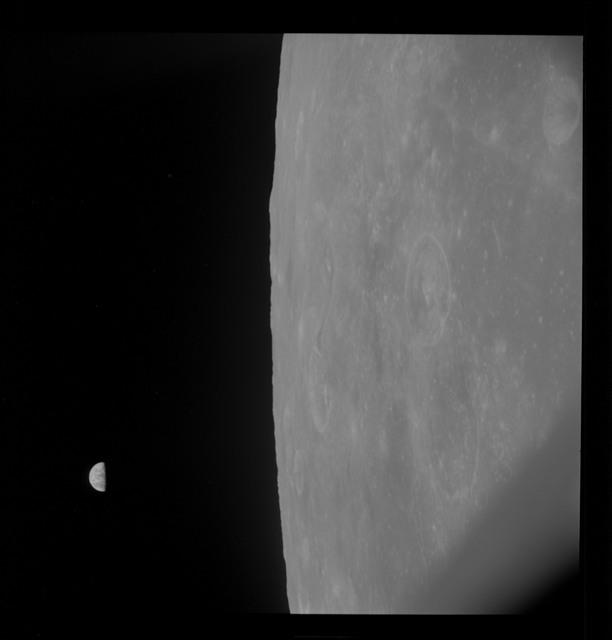 AS10-30-4477 - Apollo 10 - Apollo 10 Mission image - Mare Smythii