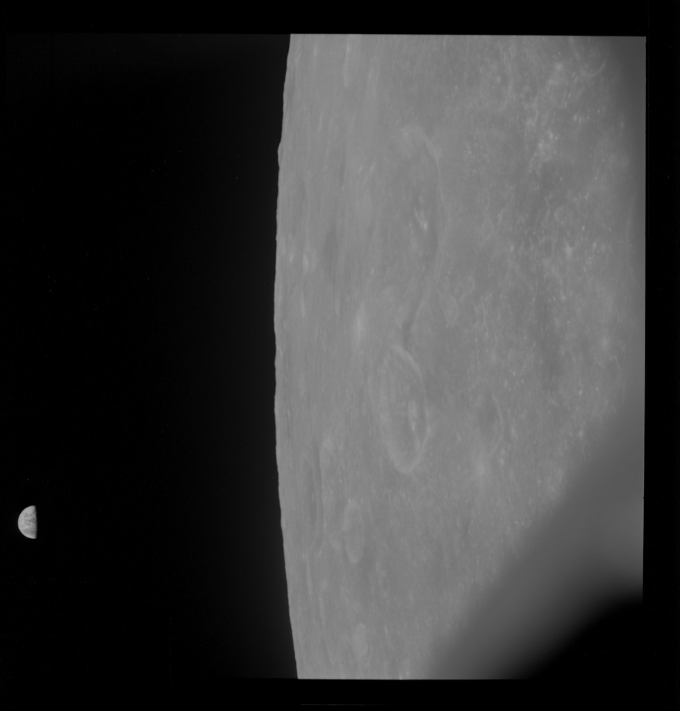 AS10-30-4480 - Apollo 10 - Apollo 10 Mission image - Mare Smythii