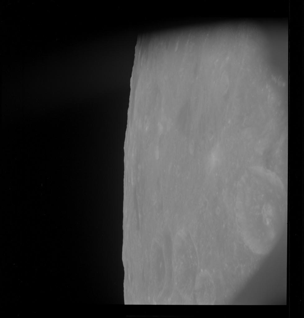 AS10-30-4483 - Apollo 10 - Apollo 10 Mission image - Mare Smythii