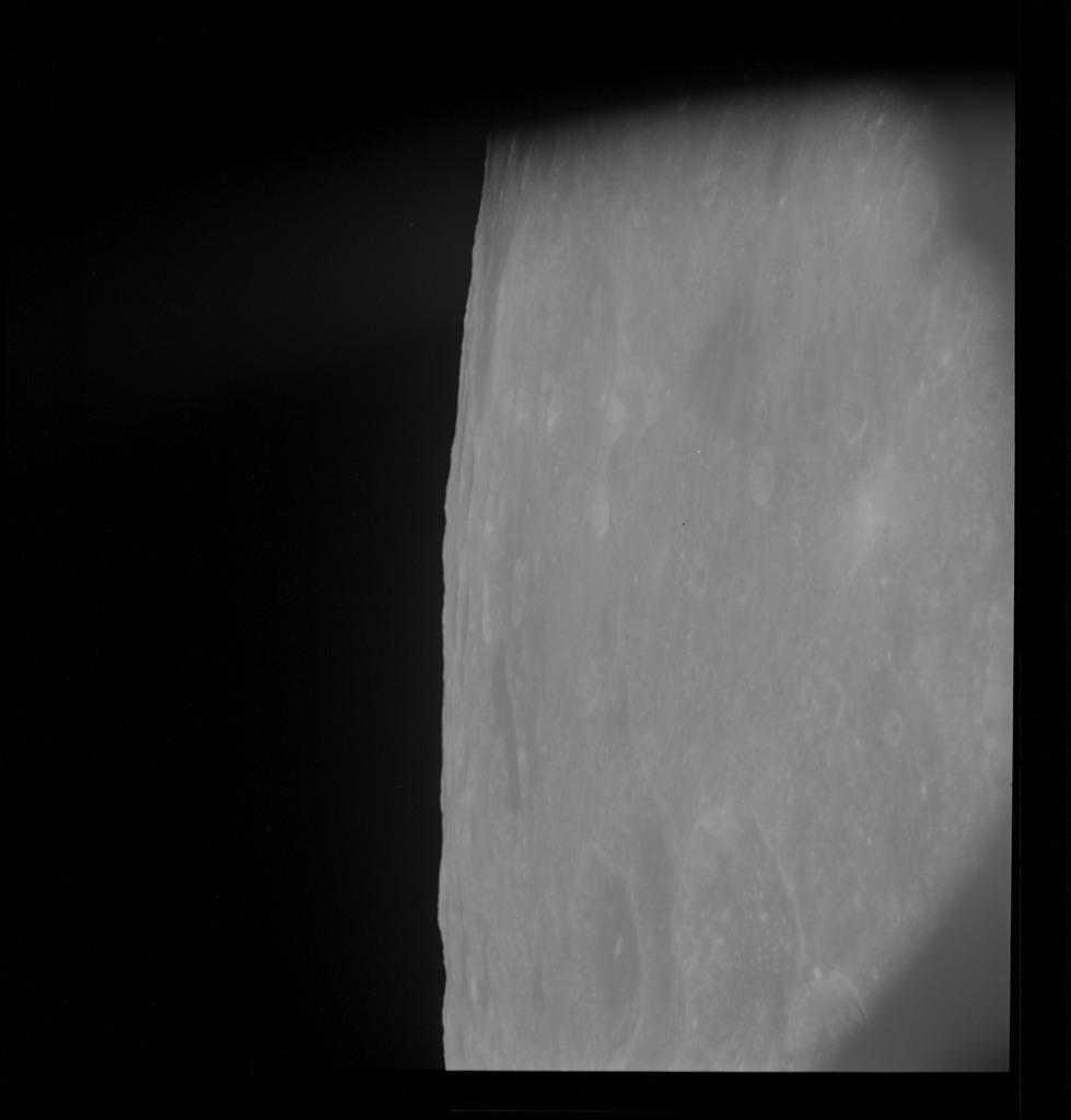 AS10-30-4484 - Apollo 10 - Apollo 10 Mission image - Mare Smythii