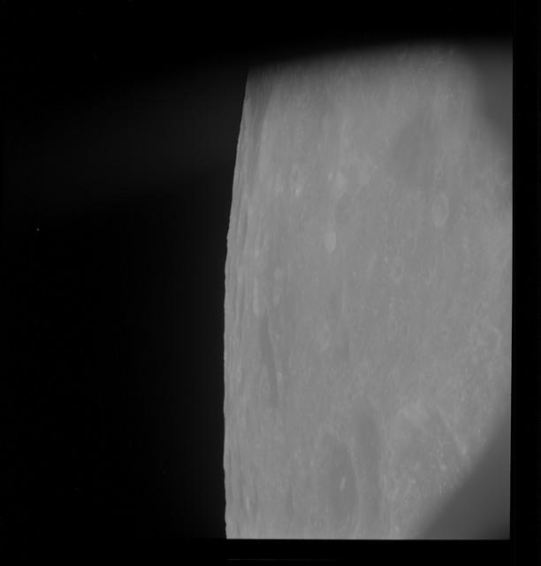 AS10-30-4485 - Apollo 10 - Apollo 10 Mission image - Mare Smythii
