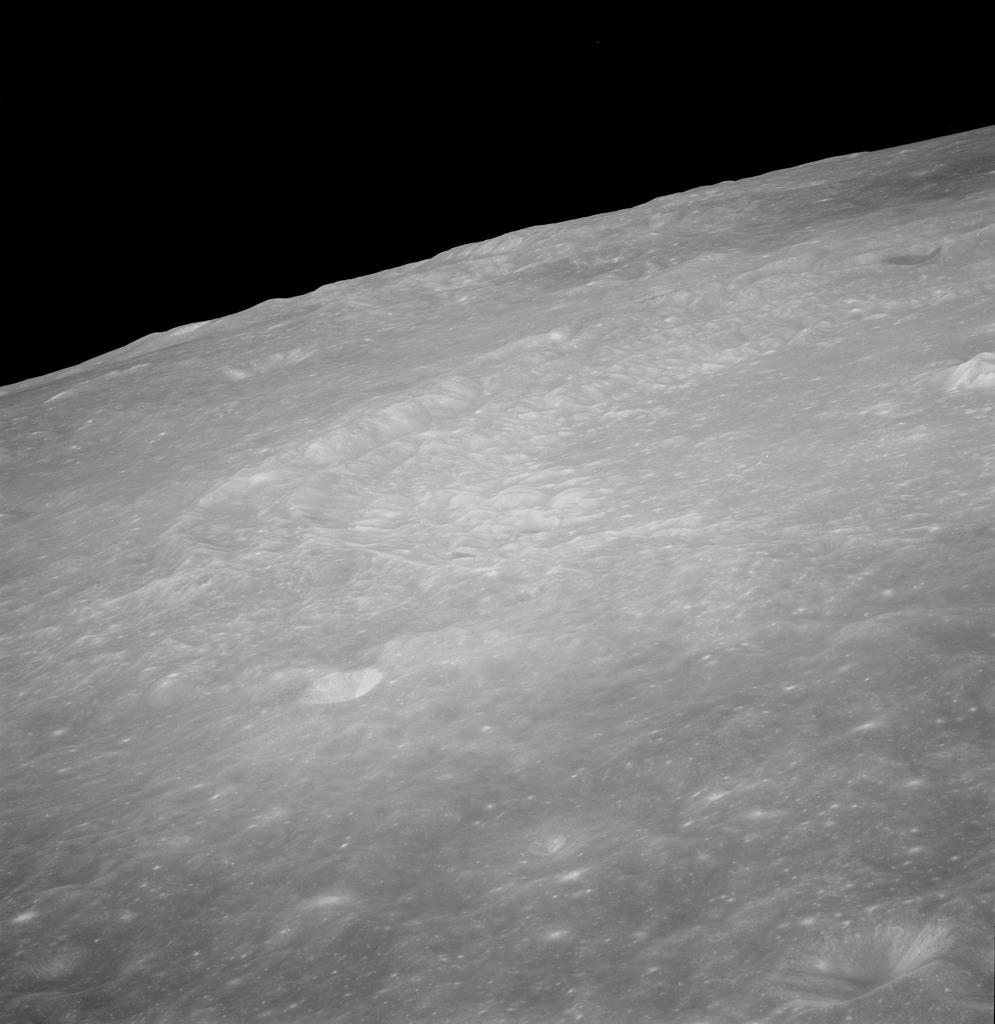 AS10-32-4677 - Apollo 10 - Apollo 10 Mission image - Crater Langrenus