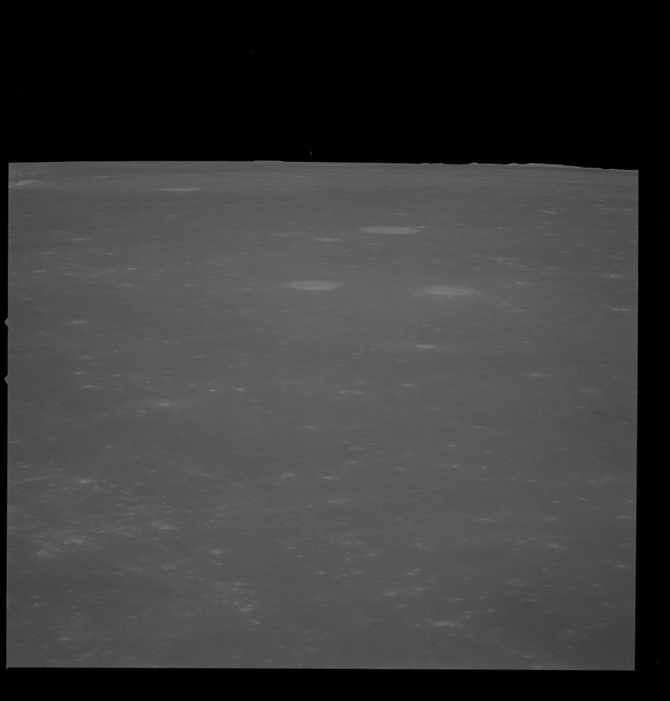 AS10-32-4682 - Apollo 10 - Apollo 10 Mission image - Sea of Fertility Taruntius H, K and P