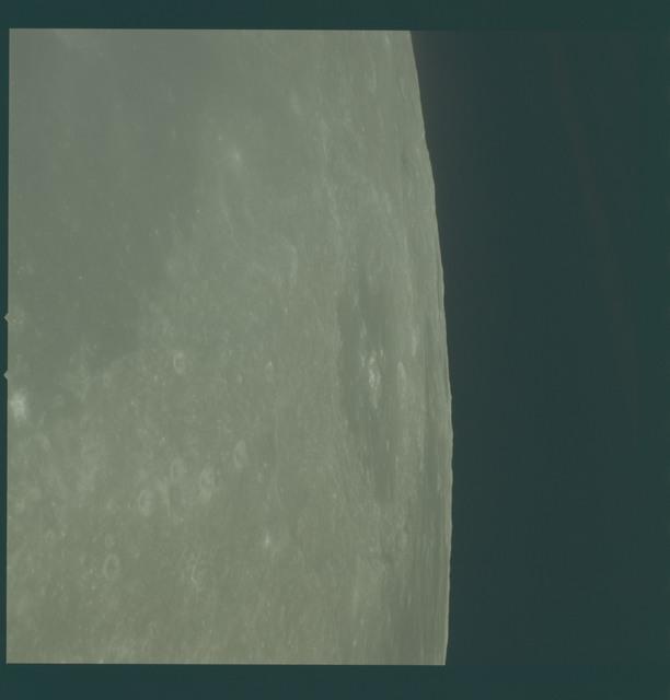 AS10-34-5081 - Apollo 10 - Apollo 10 Mission image - Crater Neper