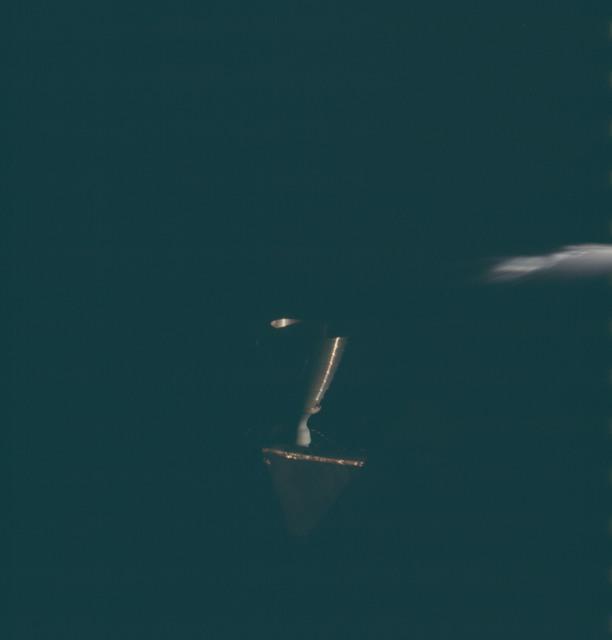 AS13-62-8941 - Apollo 13 - Apollo 13 Mission image  - View of RCS Quad Thrusters