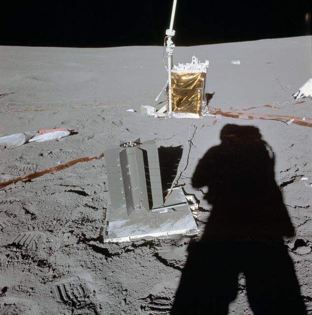 AS14-67-9366 - Apollo 14 - Apollo 14 Mission image - View of the ALSEP.