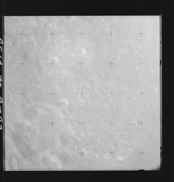 AS14-70-9783 - Apollo 14 - Apollo 14 Mission image - View of the lunar surface approaching the Descartes Landing Site.