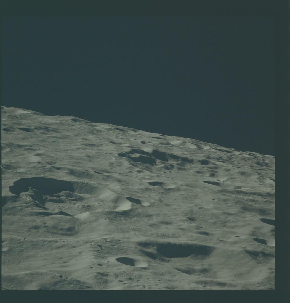 AS16-118-18939 - Apollo 16 - Apollo 16 Mission image - View of the Konstantinov Crater