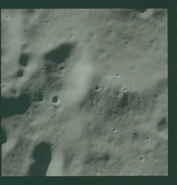 AS16-120-19206 - Apollo 16 - Apollo 16 Mission image - View of the lunar surface west of the Mills Crater.