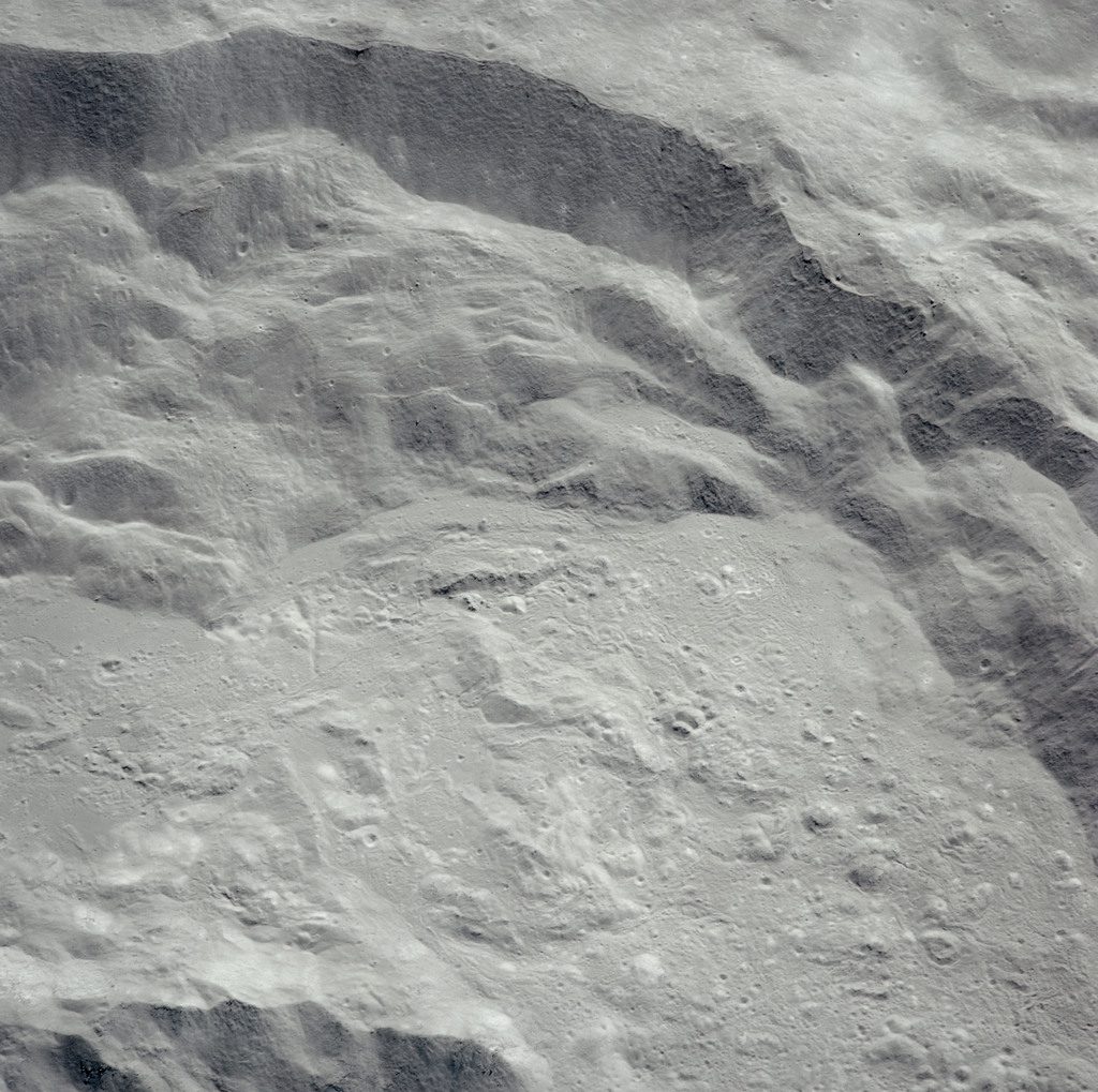 AS16-120-19229 - Apollo 16 - Apollo 16 Mission image - View of the King Crater.