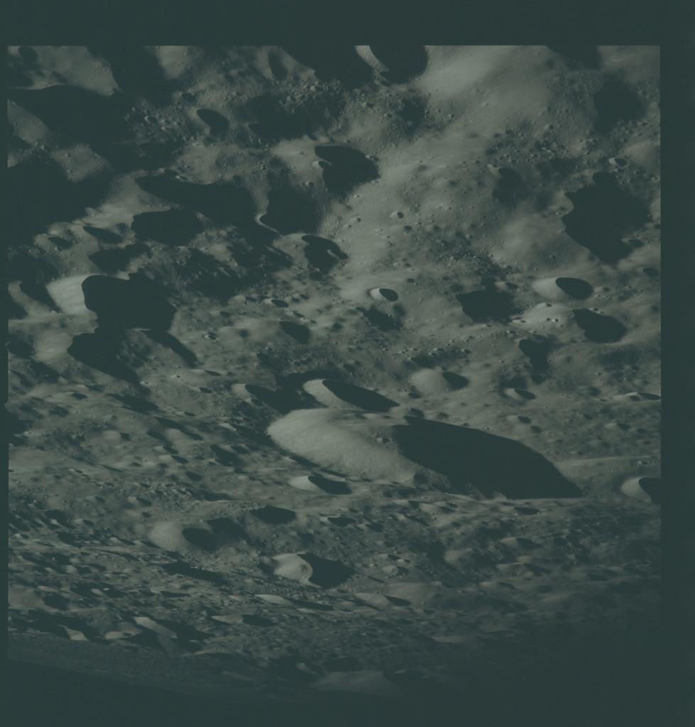 AS16-122-19467 - Apollo 16 - Apollo 16 Mission image - View of the Tsu Chung-Chi Crater.