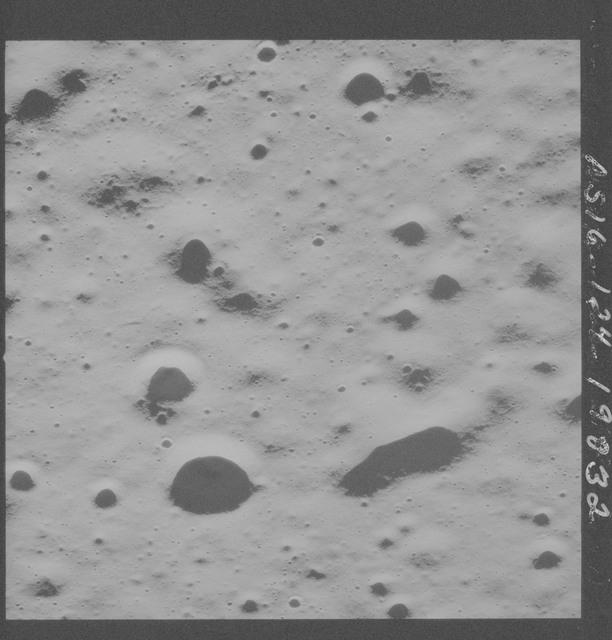 AS16-124-19832 - Apollo 16 - Apollo 16 Mission Image - Partial view of the Apollo 16 Landing Site.
