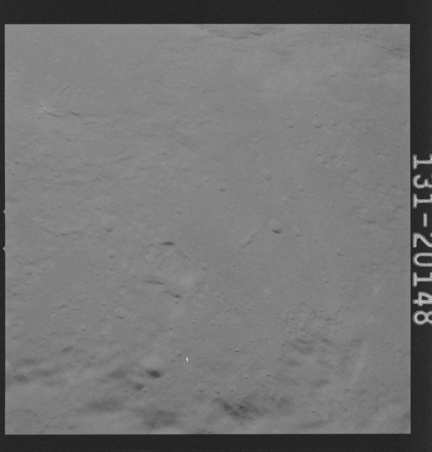 AS16-131-20148 - Apollo 16 - Apollo 16 Mission Image - Ultraviolet view of the Apollo 16 Landing Site, 4000A.
