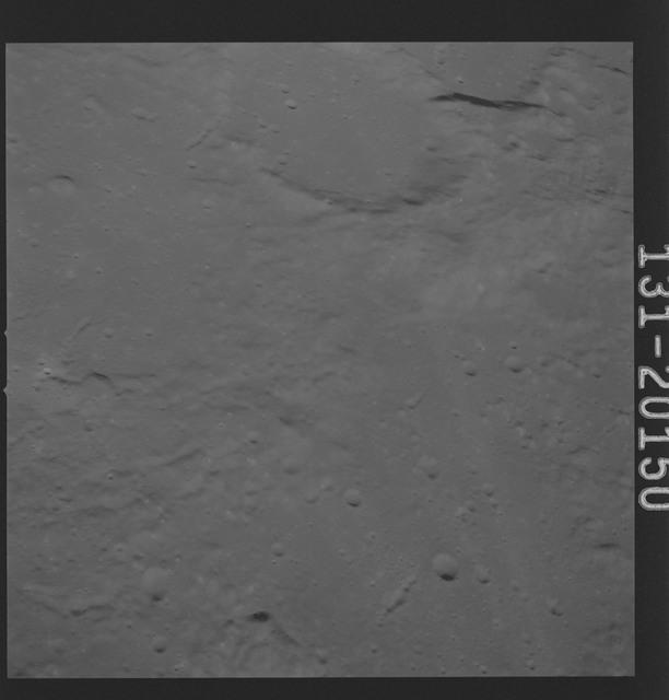 AS16-131-20150 - Apollo 16 - Apollo 16 Mission Image - Ultraviolet view of the Apollo 16 Landing Site, 3050A.