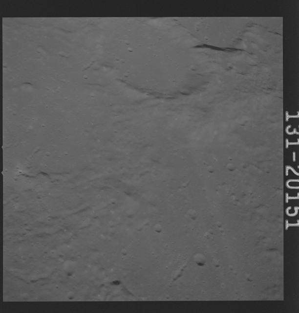 AS16-131-20151 - Apollo 16 - Apollo 16 Mission Image - Ultraviolet view of the Apollo 16 Landing Site, 3050A.