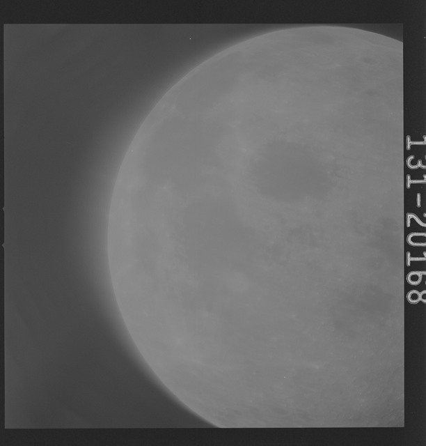 AS16-131-20168 - Apollo 16 - Apollo 16 Mission Image - Ultraviolet view of a Lunar Disc from 90E to 5E, 2650A.