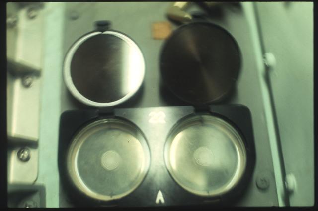 AST-08-487 - Apollo Soyuz Test Project - Apollo Soyuz Test Project, Zone Forming Fungi Experimnet (MA -147)