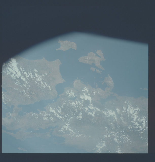 AST-09-521 - Apollo Soyuz Test Project - Apollo Soyuz Test Project, Greece, Athens, Peloponnesus, Evvoia, Skorpios, Volos