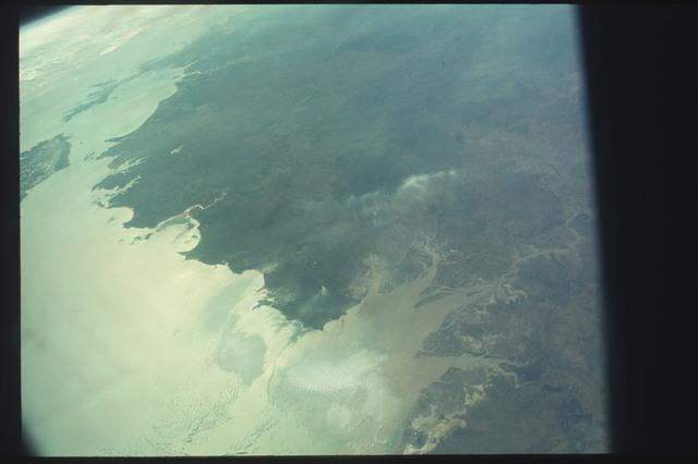 AST-11-647 - Apollo Soyuz Test Project - Apollo Soyuz Test Project, Australia, Northern Territory, West Australia, Joseph Bonaparte Gulf