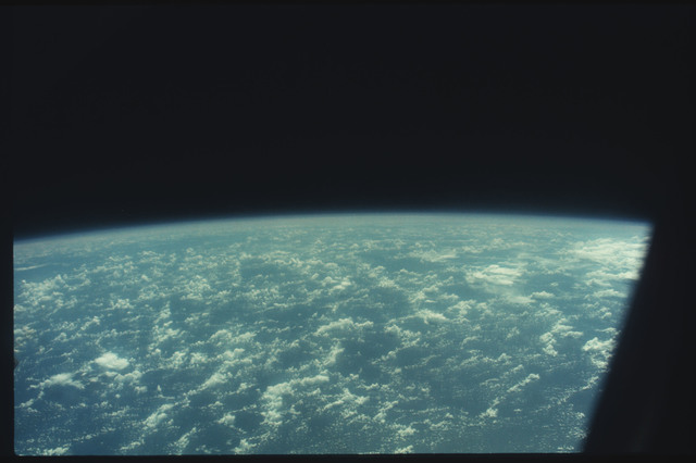AST-11-655 - Apollo Soyuz Test Project - Apollo Soyuz Test Project, Clouds over the Pacific Ocean, North of New Guinea