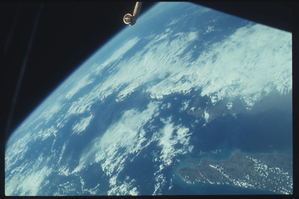 AST-11-666 - Apollo Soyuz Test Project - Apollo Soyuz Test Project, Indonesia, Java, Mardura Island, Bali Island