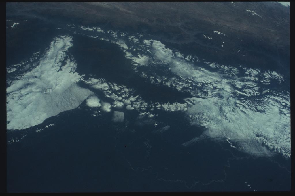 AST-11-698 - Apollo Soyuz Test Project - Apollo Soyuz Test Project, Peru, Andes Mountains, Amazon Basin