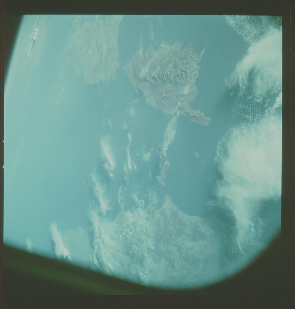 AST-13-825 - Apollo Soyuz Test Project - Apollo Soyuz Test Project, France, Italy, Corsica, Sardinia, Elba, Monti Cristo