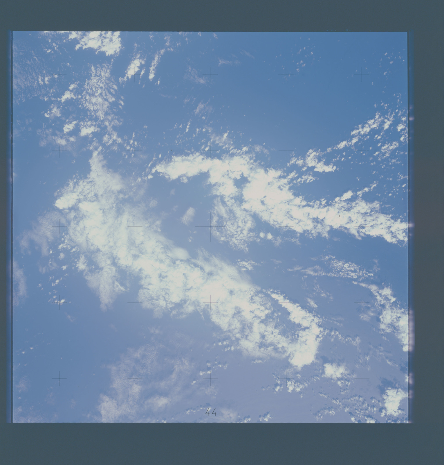 AST-15-1022 - Apollo Soyuz Test Project - Apollo Soyuz Test Project, Clouds over Indian Ocean