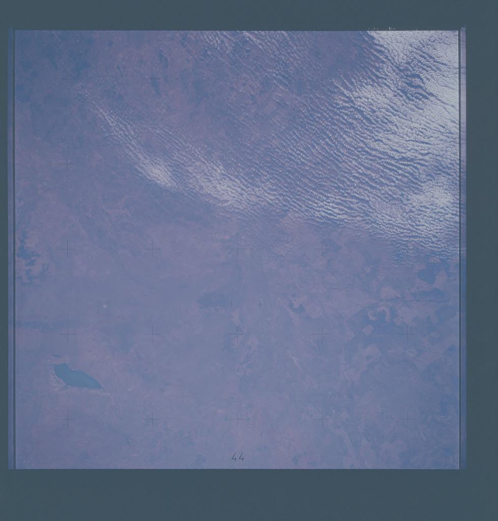 AST-16-1148 - Apollo Soyuz Test Project - Apollo Soyuz Test Project, Australia, Queensland, Lake Buchanan, Belyando River