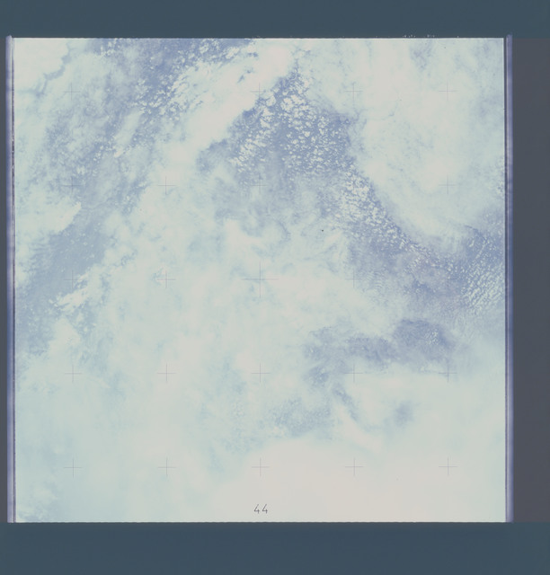 AST-17-1295 - Apollo Soyuz Test Project - Apollo Soyuz Test Project, Clouds Over Mali, Overexposed
