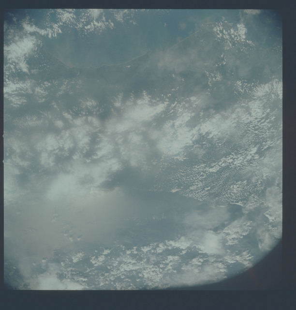 AST-19-1585 - Apollo Soyuz Test Project - Apollo Soyuz Test Project, Costa Rica, Osa Peninsula, Puerto Limon, Gulf of Nicoya
