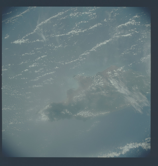 AST-19-1591 - Apollo Soyuz Test Project - Apollo Soyuz Test Project, Jamaica, Blurred, Dirty Window