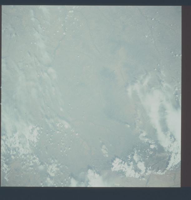 AST-20-1630 - Apollo Soyuz Test Project - Apollo Soyuz Test Project, Montana, Wyoming, Big Horn Mountains, Overexposed