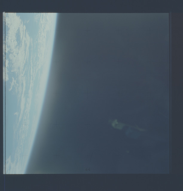 AST-22-1810 - Apollo Soyuz Test Project - Apollo Soyuz Test Project, Clouds Over South Alantic Ocean