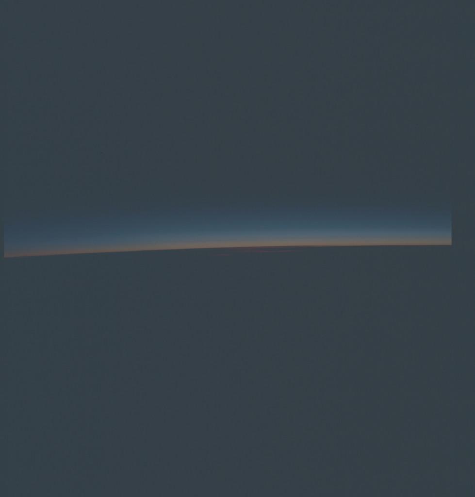 AST-27-2336 - Apollo Soyuz Test Project - Apollo Soyuz Test Project, Earth Limb at Sunrise, East of Argentina