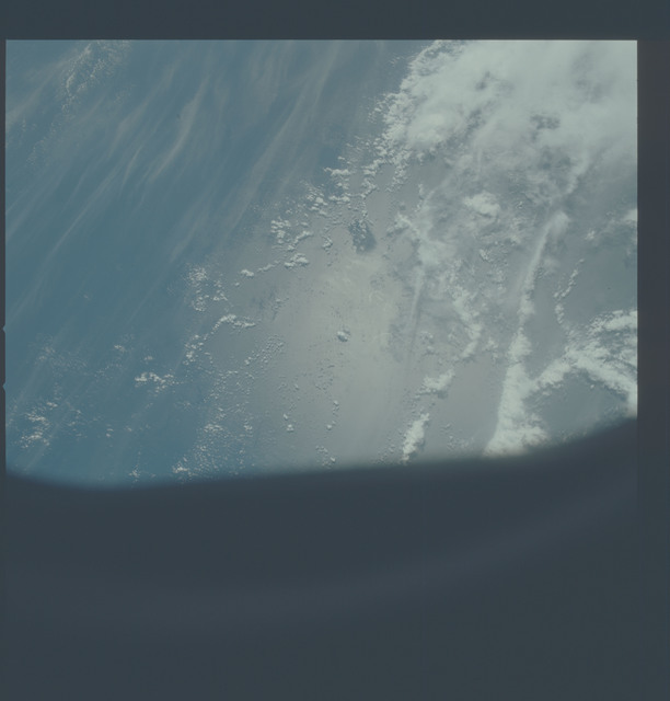 AST-27-2351 - Apollo Soyuz Test Project - Apollo Soyuz Test Project, Clouds Over Atlantic Ocean