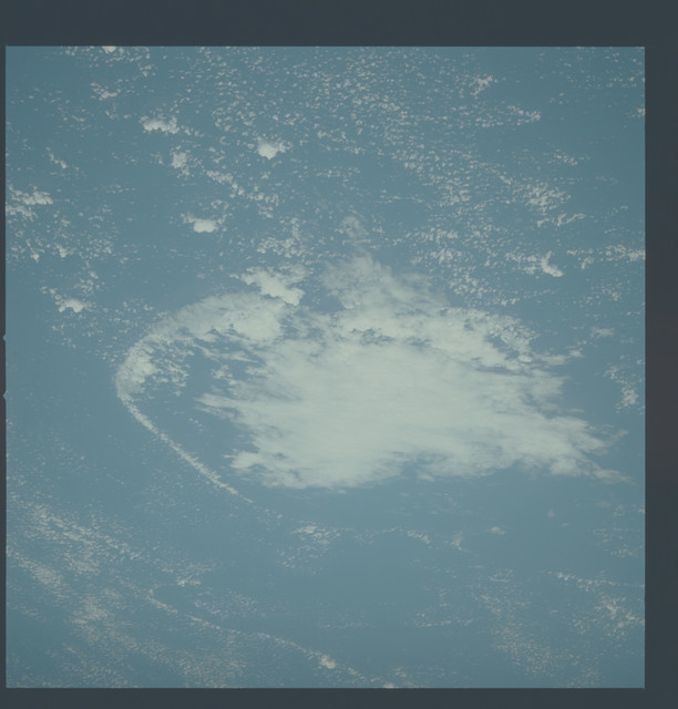 AST-27-2395 - Apollo Soyuz Test Project - Apollo Soyuz Test Project, Clouds Over Atlantic Ocean With Wave Front