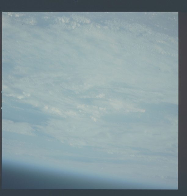 AST-30-2555 - Apollo Soyuz Test Project - Apollo Soyuz Test Project, Clouds, Out of Focus