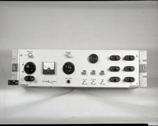 1 ELECTRONIC CONTROL UNIT - FRONT PANEL AND INNER FRONT