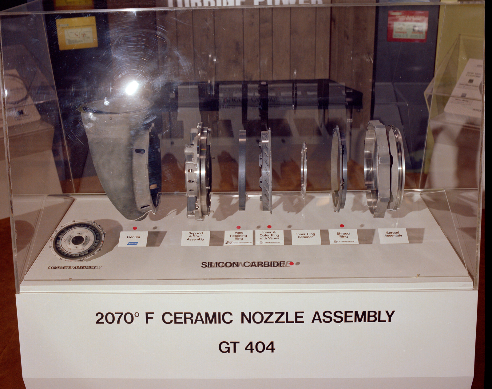 2700 DEGREES CERAMIC NOZZLE ASSEMBLY