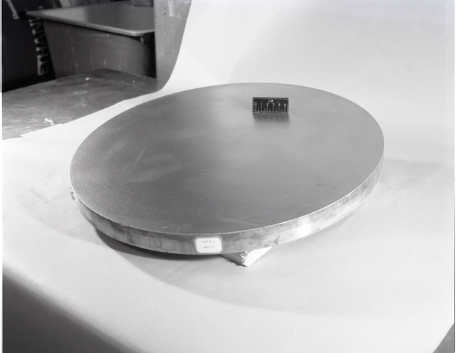 4 19 INCH DIAMETER COPPER DISKS SHOWING MACRO ETCHED SURFACE