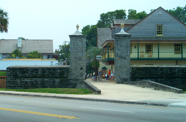 A1A Scenic and Historic Coastal Byway - St. Augustine Gate