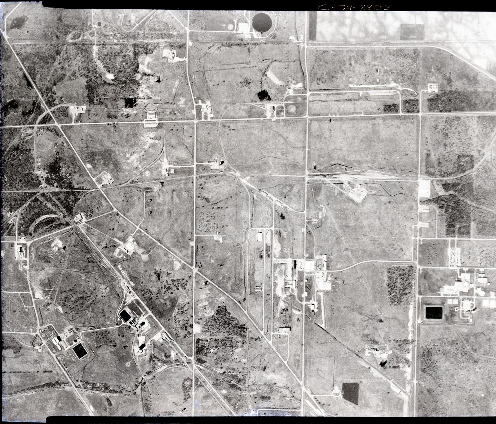 AERIAL VIEW OF NASA PLUM BROOK STATION SANDUSKY OHIO
