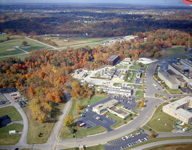 AERIAL VIEWS OF NASA LEWIS RESEARCH CENTER