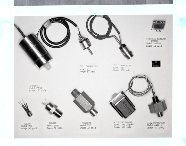 ARRAY OF LOW COST PRESSURE TRANSDUCERS