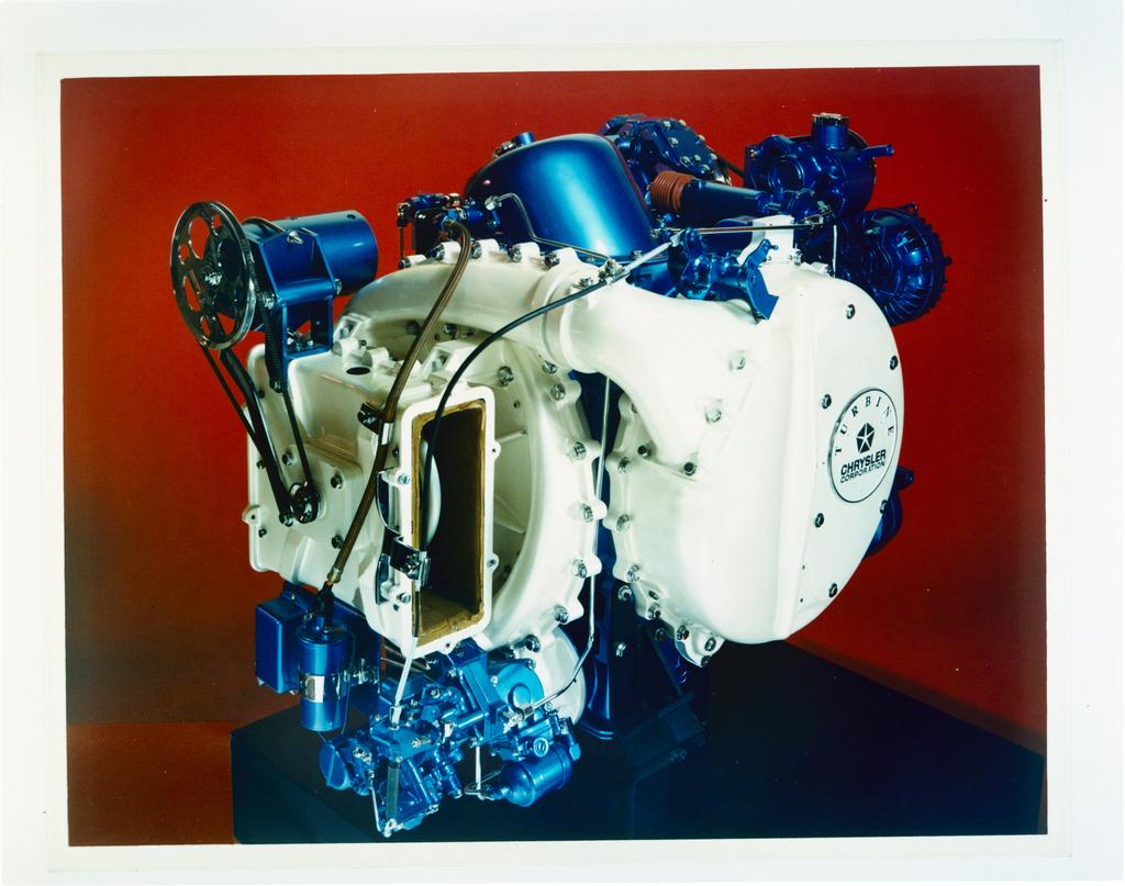 AUTOMOTIVE GAS TURBINE ENGINE