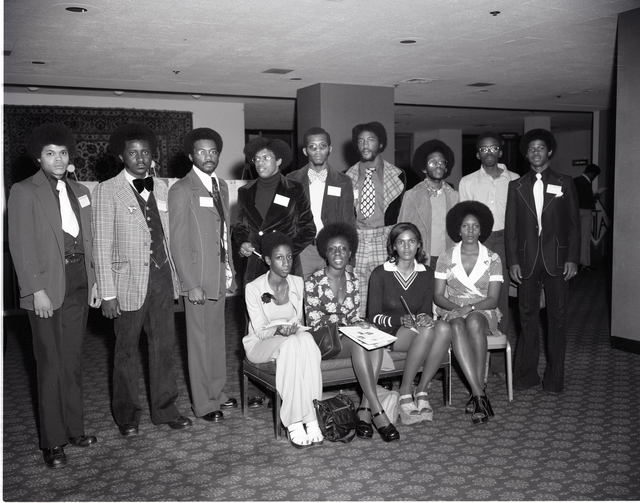 BLACKS IN SCIENCE AND ENGINEERING - A MANPOWER SYMPOSIUM AT THE SHERATON CLEVELAND HOTEL CLEVELAND OHIO