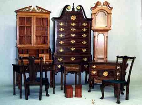 Blue Ridge Parkway - Miniature Furniture