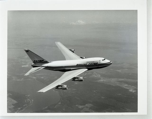 BOEING 747 SP AIRPLANE